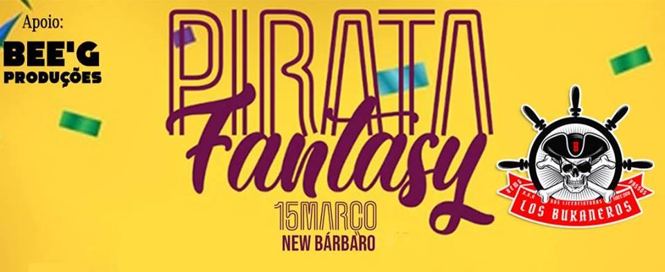 New Bárbaro - Pirata Fantasy