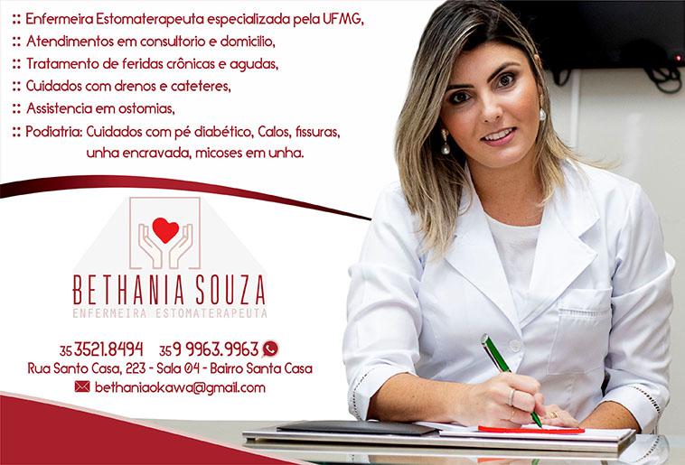 Bethânia Souza Okawa - Enfermeira Estomaterapeuta