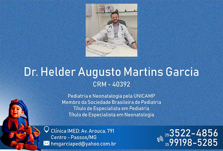 Dr. Helder Augusto Martín Garcia - CRM - 40392