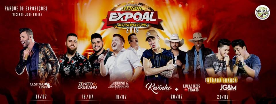 Expoal 2019 - Gusttavo Lima / Alpinópolis - MG