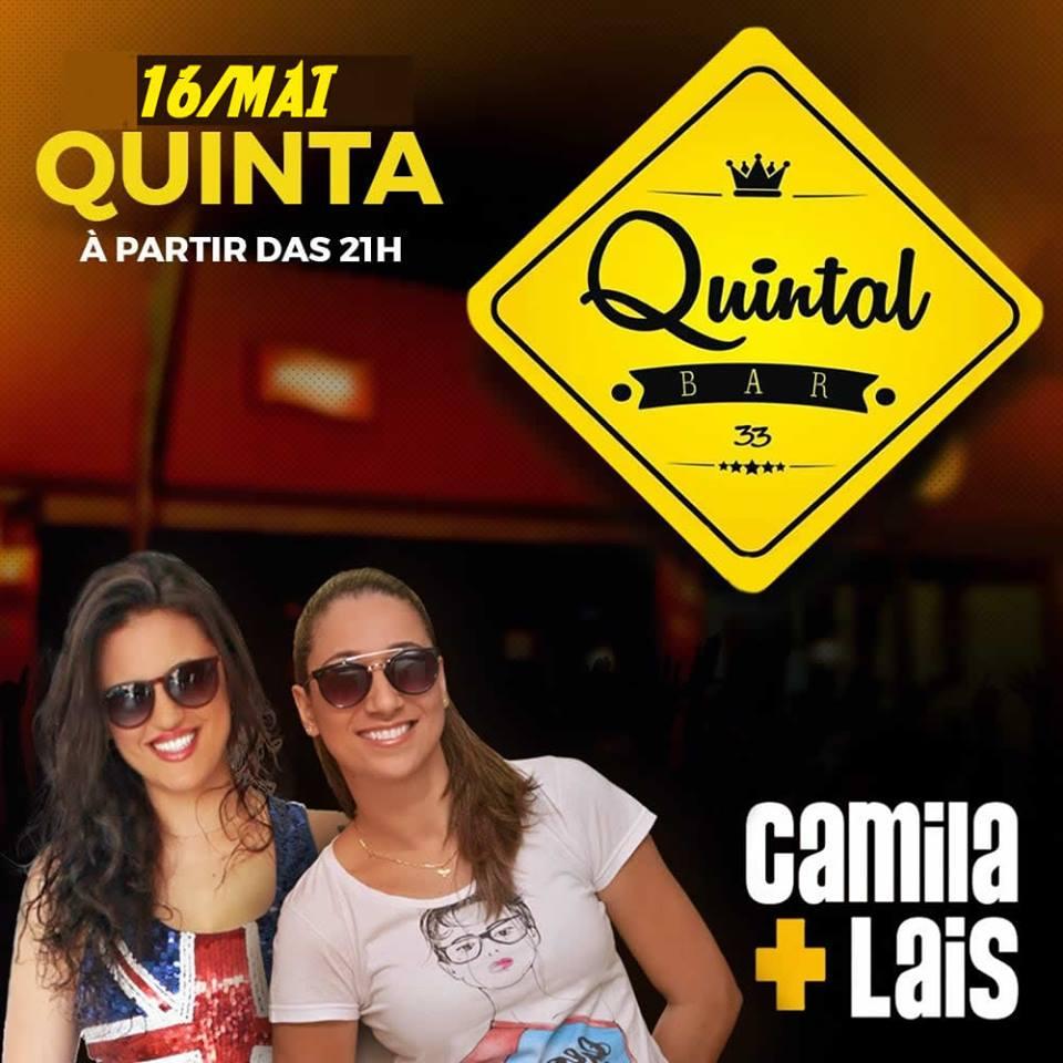 Quintal Bar 33 - Camila e Laís