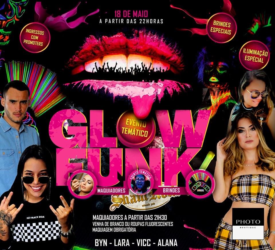 ShamRock Minash Pub - Glow Funk / São Sebastião do Paraíso-MG