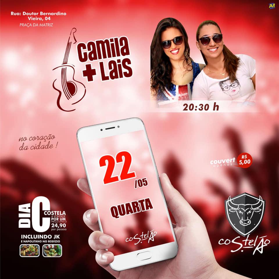 Costelão - Camila e Laís