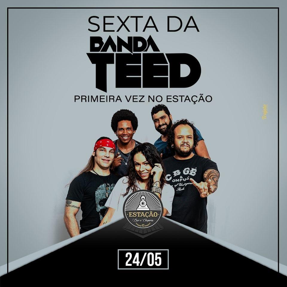 Estação Bar e Choperia - Banda Teed / São Sebastião do Paraíso-MG