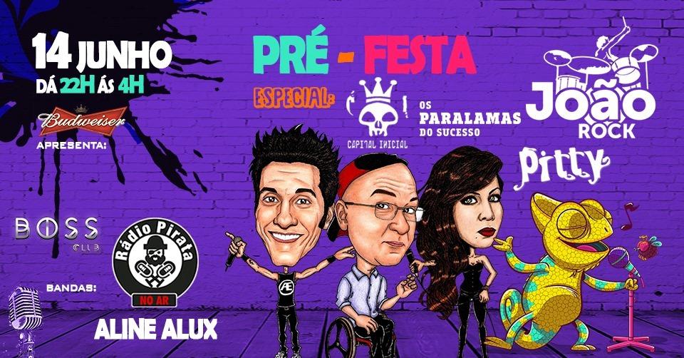 Boss Club - Pré-Festa João Rock