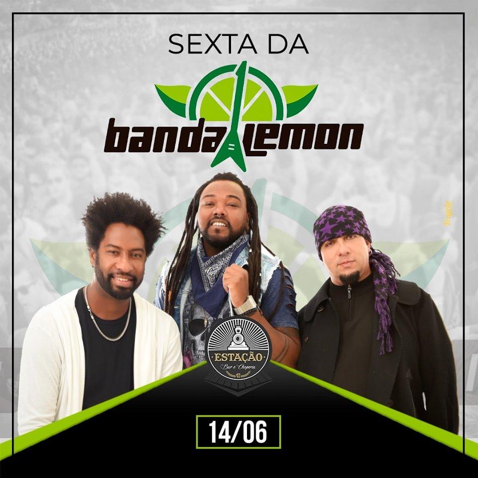 Estação Bar e Choperia - Banda Lemon / São Sebastião do Paraíso MG