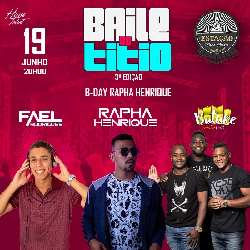 Estação Bar e Choperia - Baile do Titio 3ª Edição / São Sebastião do Paraíso-MG