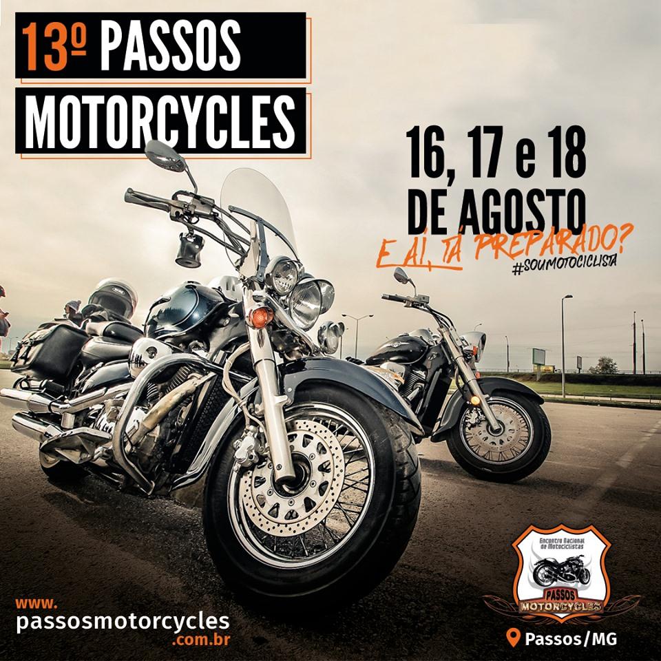 Passos Motorcycle 2019 - Show Barão Vermelho Passos MG.