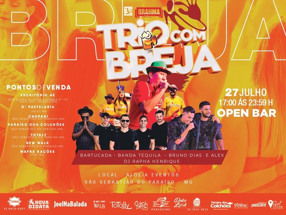 Trio com Breja 2019 - São Sebastião do Paraíso MG.