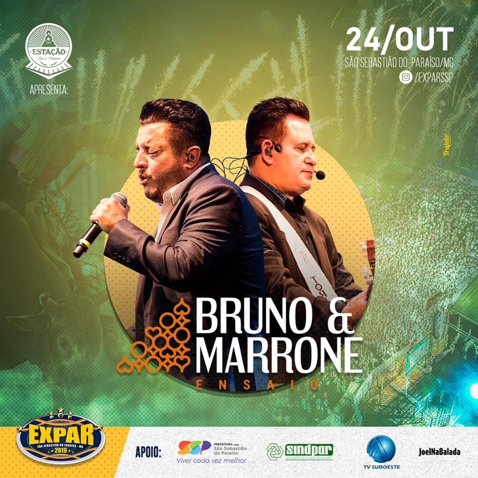 Expar 2019 - Show Bruno e Marrone São Sebastião do Paraiso MG.
