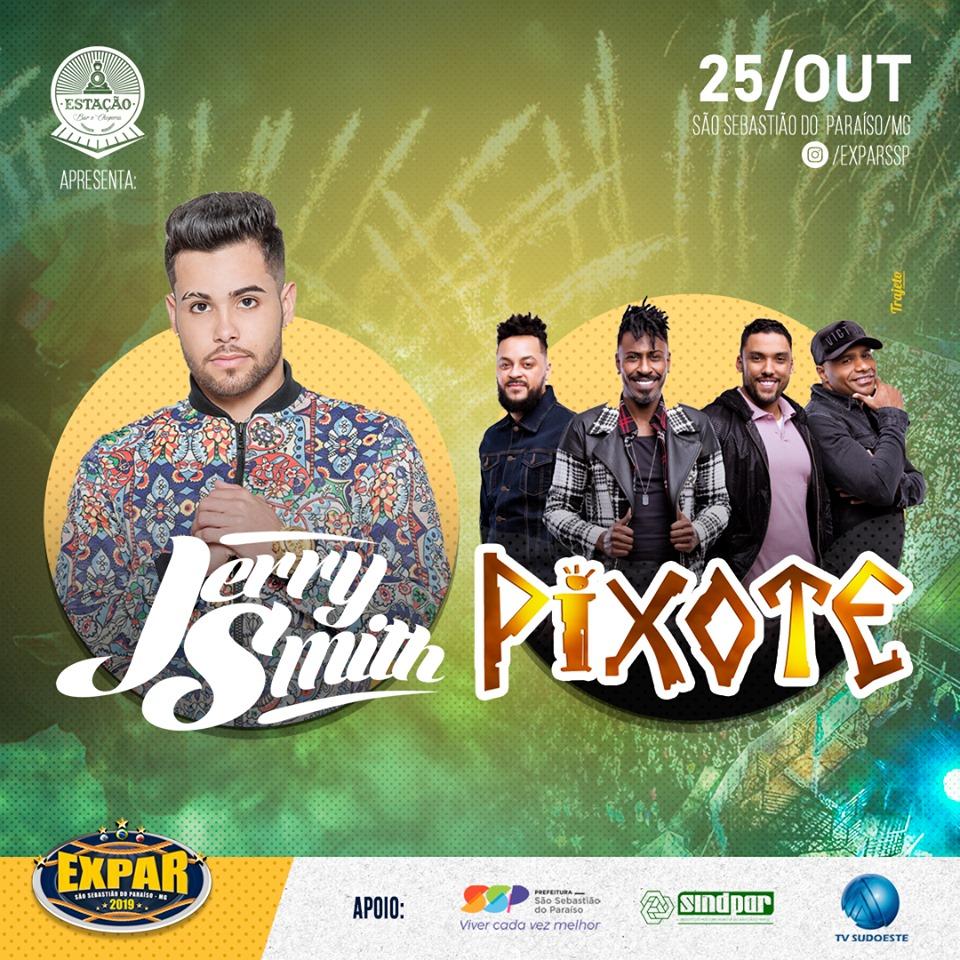 Expar 2019 - Show Jerry Smith e Pixote São Sebastião do Paraiso MG.