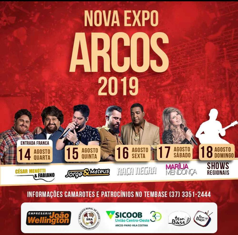 Expo Arcos 2019 - Shows Regionais