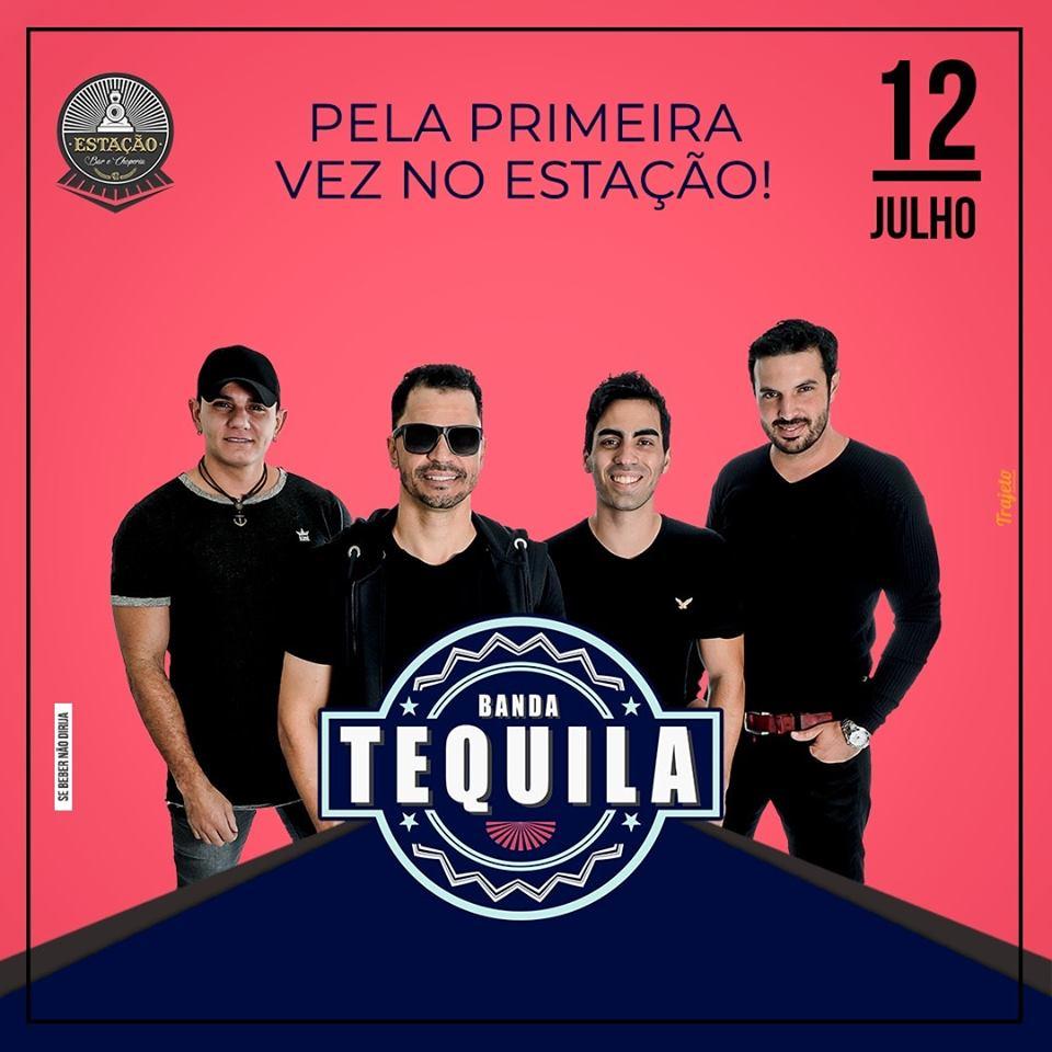 Estação Bar e Choperia - Banda Tequila / São Sebastião do Paraíso-MG