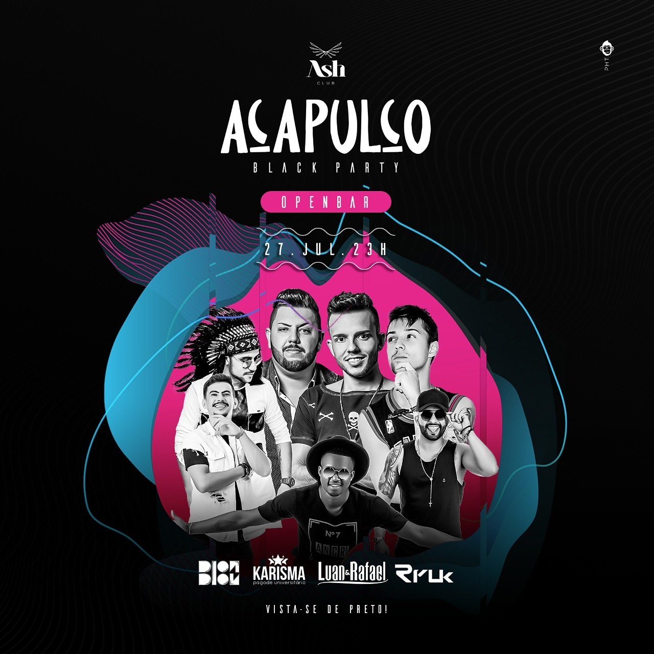 Ash Club - Acapulco Black Party