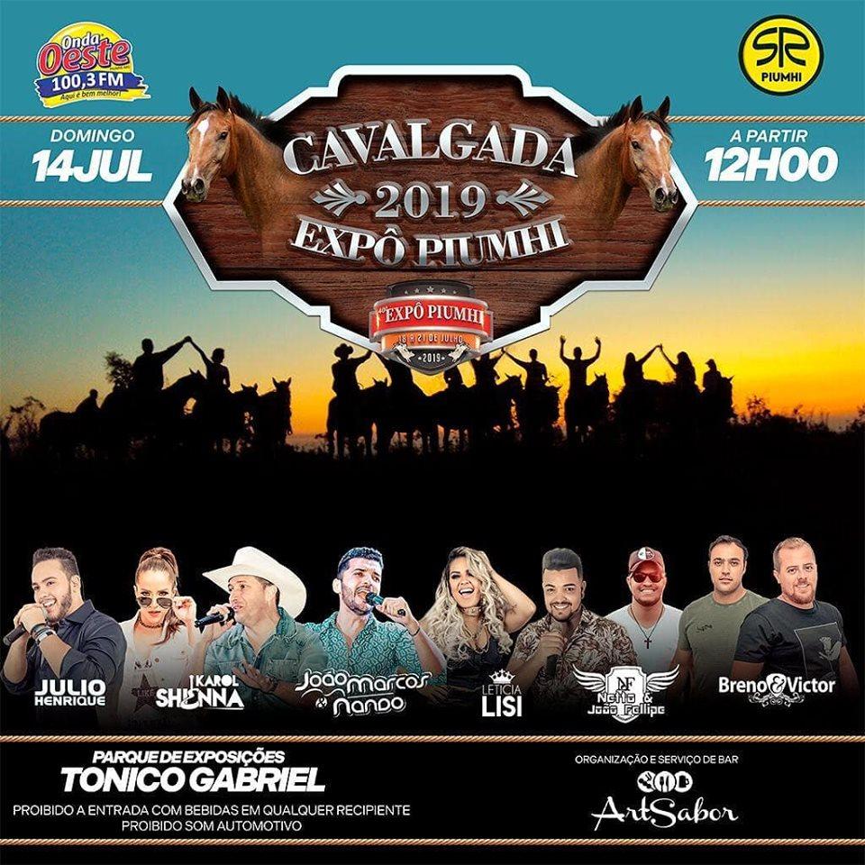 Cavalgada Expo Piumhi 2019