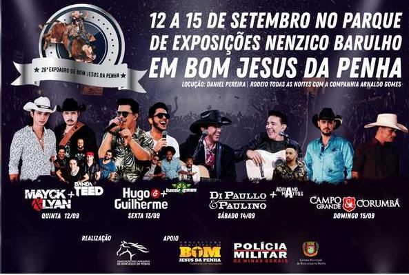 26ª Expo Bom Jesus da Penha - Mayck e Lyan + Banda Teed