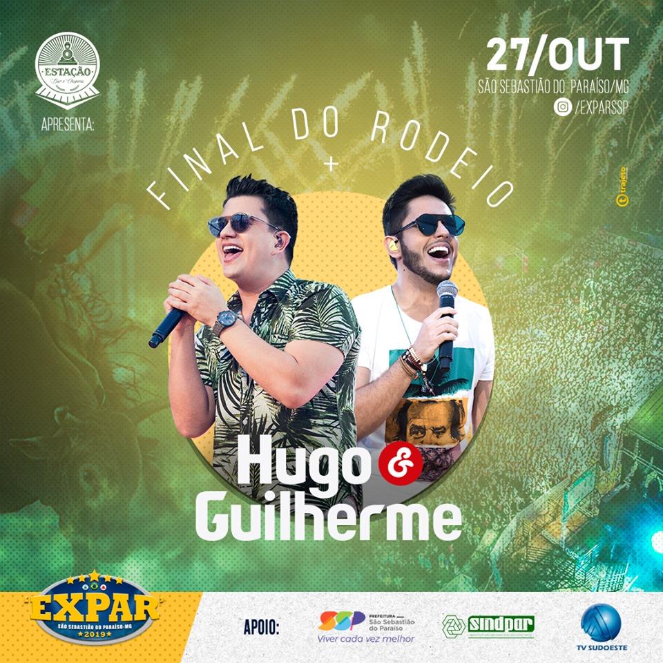 Expar 2019 - Show Hugo e Guilherme São Sebastião do Paraíso MG