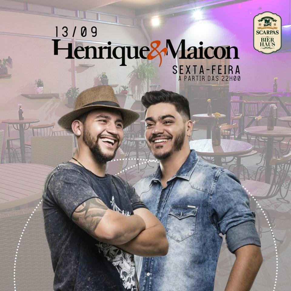 Scarpas Bier Haus - Henrique e Maicon / Capitólio-MG